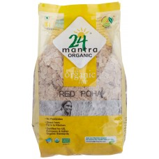 24 Mantra Organic Red Poha (Flattened Rice)