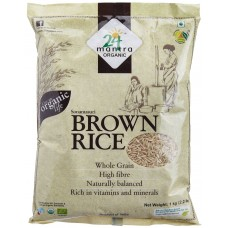 24 Mantra Organic Sonamasuri Raw Rice Brown Organic
