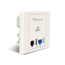300M Wireless-N Wall Mount POE Access Point